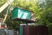 В Иркутске начался снос нелегальных гаражей