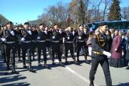 Петербург встретил Парад Победы безоблачным небом и солнцем