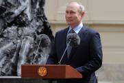 Путин открыл памятник Александру III в Гатчине: «Он любил Россию»