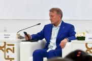 Глава Сбербанка рассказал на ПМЭФ, в чем счастье сегодняшней жизни