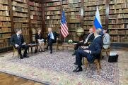 Путин и Байден обменялись подарками