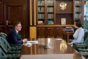 Алексей Текслер провел встречу с гендиректором АСИ