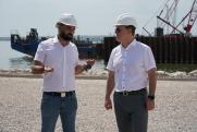 Строительство моста через Волгу в Самарской области к концу года завершат на 40 %