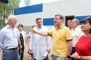 Дмитрий Азаров проверил готовность нового COVID-центра в Тольятти
