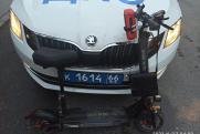 В Екатеринбурге пьяного самокатчика арестовали на 10 суток