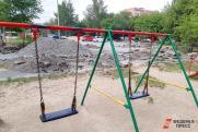 В Екатеринбурге энергетики требуют снести сотни детских площадок