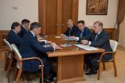 Кумпилов и Фальков обсудили развитие высшего образования в Адыгее