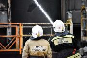 На пожаре в Магнитогорске огнеборцы спасли жизни 25 человек