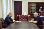 Глава Адыгеи провел встречу с сенатором от республики