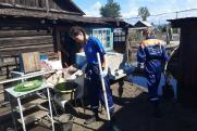 Студенты помогают забайкальцам вернуться к нормальной жизни после стихии