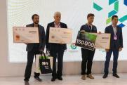 Победитель XV венчурной ярмарки в Новосибирске получил сертификат на 150 тысяч рублей