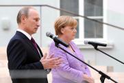 Последние переговоры: что скажут друг другу на прощание Путин и Меркель