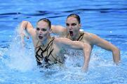 Российских и украинских синхронисток перепутали на Олимпийских играх