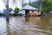 В Архангельской области затопило переправу