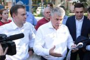 Коммунист Грудинин не смог ответить на вопрос томича Леонтьева во время встречи с горожанами