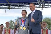 Омские власти сделали олимпийской чемпионке Виталине Бацарашкиной щедрый подарок