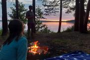 На выходные из Тюмени: ставим палатки на озере Гурино