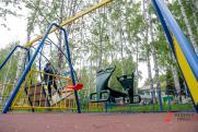 В нижегородском парке «Швейцария» женщина сломала ногу на детской площадке