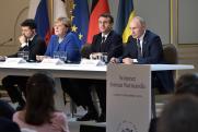 Путин, Меркель и Макрон обсудили проведение саммита «нормандской четверки»