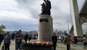 Во Владивостоке отпраздновали 9 Мая