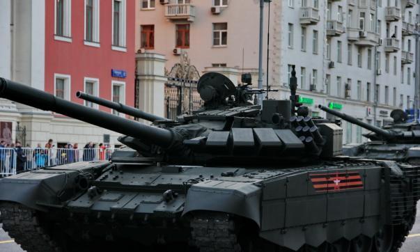 В российской столице закончилась заключительная ночная репетиция парада Победы