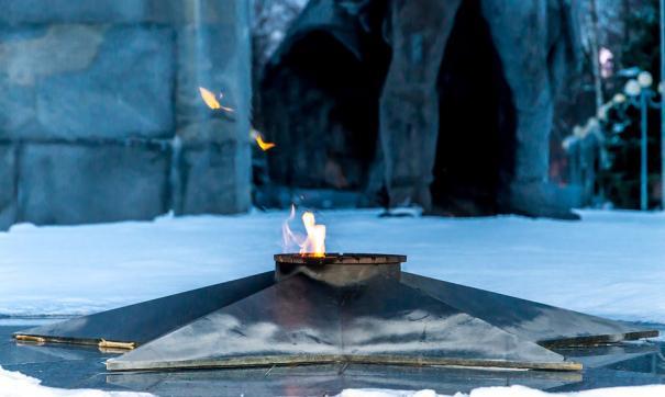 В Челябинской области женщина найдена мертвой у Вечного огня