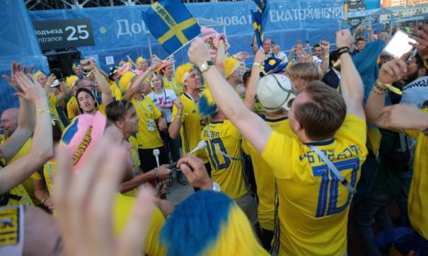 Шведы от души гуляли в Екатеринбурге