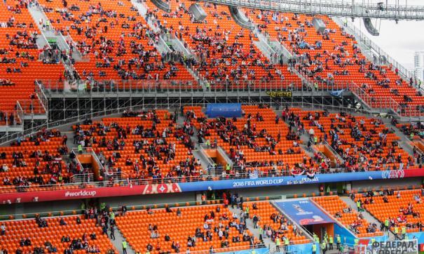 Фанаты не видели толком поля