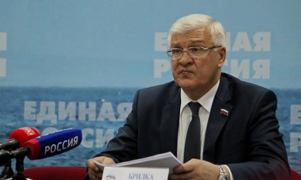 Секретарь иркутского отделения «Единой России» и председатель Заксобрания области Сергей Брилка