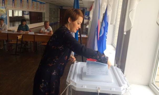Голосование на праймериз «Единой России» в Белгородской области