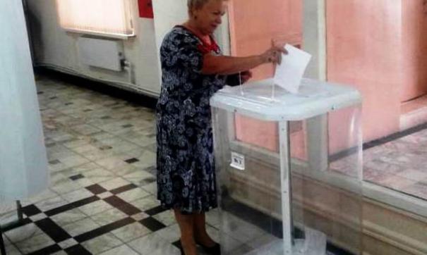 Голосование на праймериз «Единой России» в Рязанской области