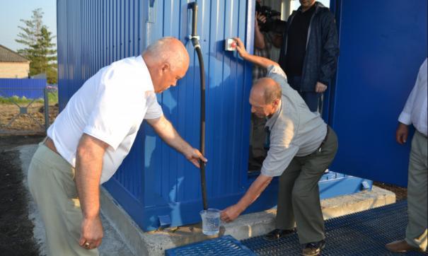 Жителям отдаленных районов Новосибирской области дадут чистую воду