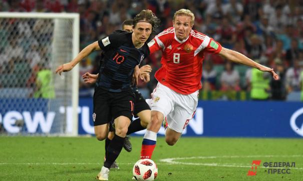 Модрич назван лучшим игроком чемпионата мира по футболу