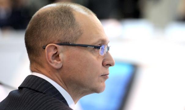 Кириенко стал первым замруководителя своей администрации осенью 2006 году