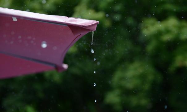 НаКраснодарский край идут сильные дожди сгрозами иградом
