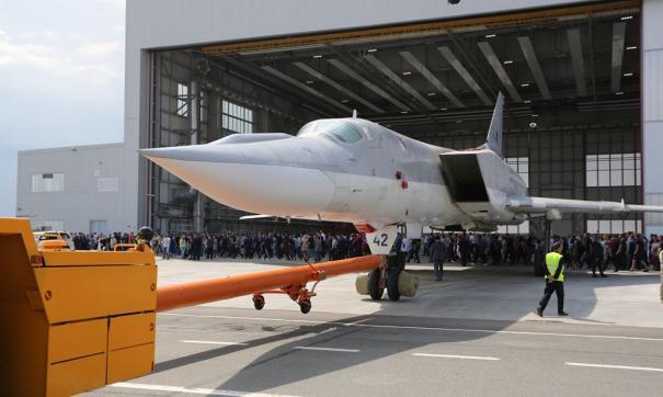 Казанский авиазавод представил новый бомбардировщик