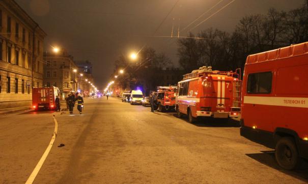 Пожар в здании Центробанка в Москве ликвидирован