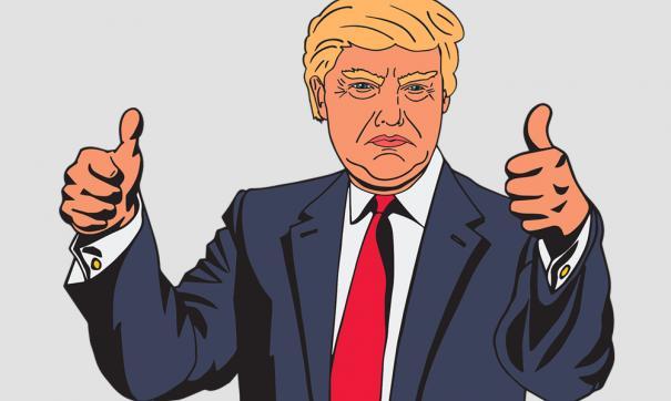 Google сначала выдает плохие сюжеты СМИ— Трамп