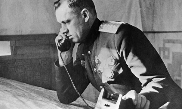 Константин Рокоссовский во времена командования 1-м Белорусским фронтом в годы Великой Отечественной войны