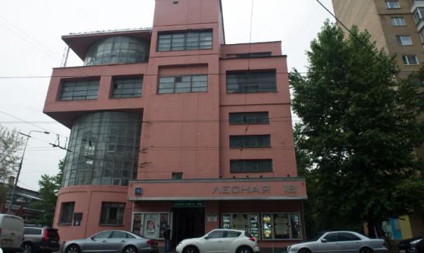 Здание Дома культуры имени Зуева на улице Лесная в Москве – видный объект эпохи конструктивизма