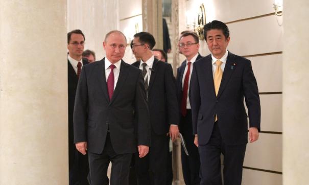 Песков проинформировал о намерении РФ иЯпонии продолжать переговоры помирному контракту