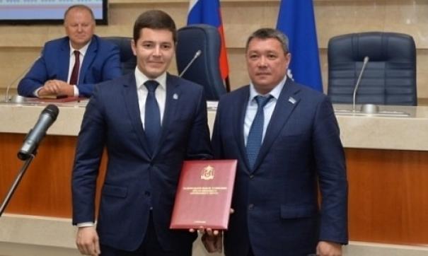 Дмитрий Артюхов стал самым молодым губернатором в Российской Федерации