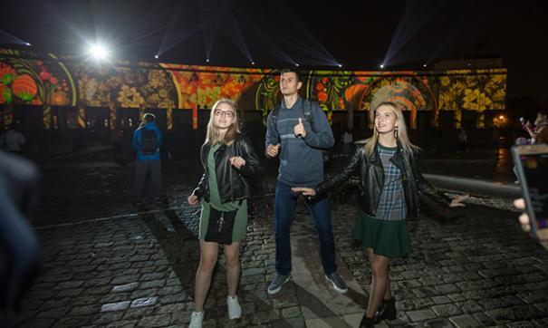 Фестиваль «Круг света» в российской столице посетили около 4 млн человек
