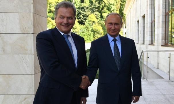 Президент Финляндии неувидел угрозы состороны Российской Федерации и разъяснил почему
