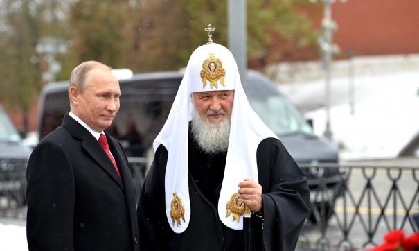 Патриарх Кирилл: РПЦ совершенно независима от политики