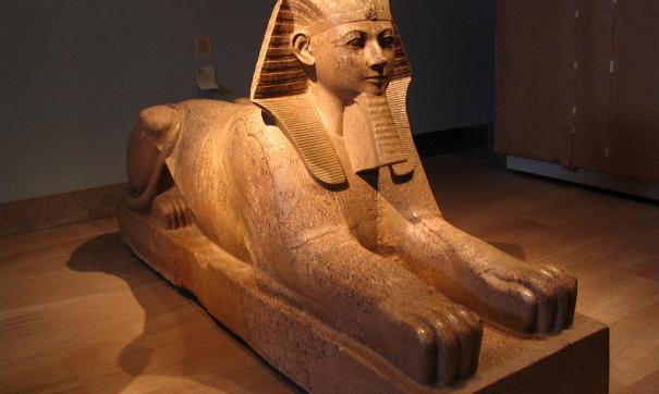 Археологи отыскали статую Сфинкса наюге Египта
