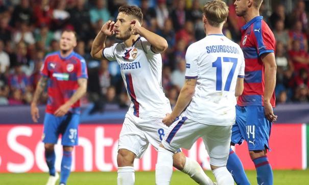 ЦСКА на последних минутах вырвал вничью в первом матче Лиги чемпионов