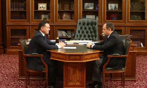 Губернатор Московской области внес кандидатуры своих заместителей