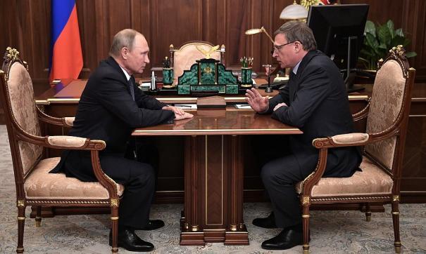 Бурков и Путин