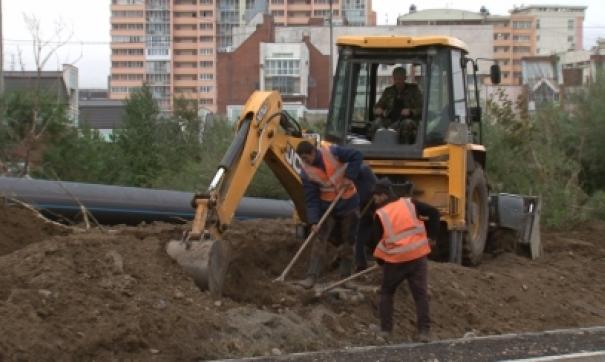 Дорожный ремонт в Иркутске